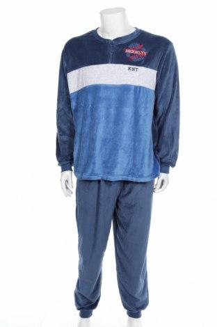 Pijama, Mărime S, Culoare Albastru, 75% bumbac, 25% poliester, Preț 115,26 Lei