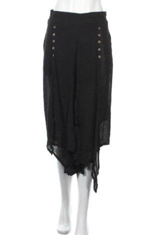 Пола - панталон Caroline K Morgan, Размер M, Цвят Черен, 65% вискоза, 35% полиестер, Цена 14,70лв.