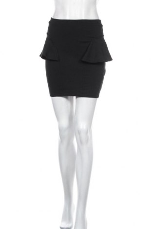 Пола Bardot, Размер M, Цвят Черен, Вискоза, полиестер, еластан, Цена 6,44лв.