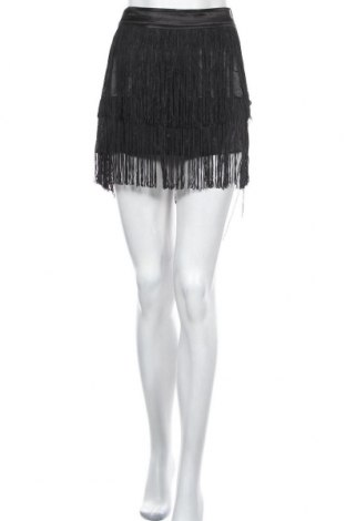 Пола Bardot, Размер M, Цвят Черен, Полиестер, Цена 9,98лв.