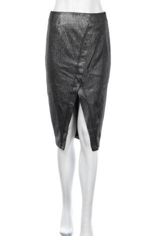 Пола Bardot, Размер M, Цвят Черен, Полиестер, Цена 11,55лв.