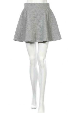 Φούστα H&M Divided, Μέγεθος S, Χρώμα Γκρί, 65% πολυεστέρας, 35% βαμβάκι, Τιμή 12,15€