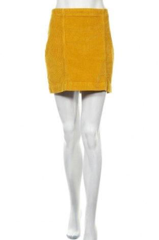 Пола Urban Surface, Размер M, Цвят Жълт, 98% памук, 2% еластан, Цена 6,84лв.