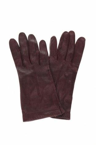 Γάντια, Χρώμα Κόκκινο, Γνήσιο δέρμα, Τιμή 18,12€