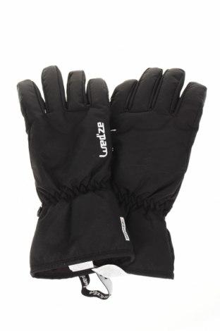 Ръкавици за зимни спортове Wedze, Цвят Черен, Полиамид, Цена 35,70лв.