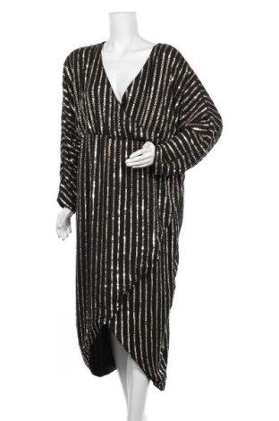 Φόρεμα ASOS, Μέγεθος XL, Χρώμα Μαύρο, Πολυεστέρας, Τιμή 50,27€
