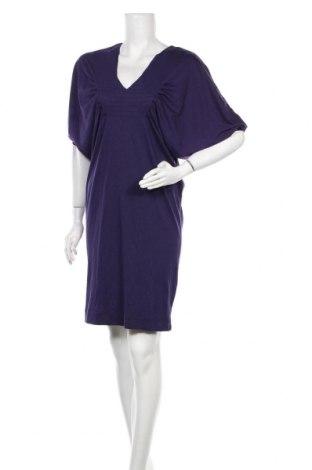 Рокля Bruuns Bazaar, Размер M, Цвят Лилав, 70% тенсел, 30% памук, Цена 26,10лв.