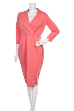 Φόρεμα Closet London, Μέγεθος L, Χρώμα Ρόζ , 73% βισκόζη, 22% πολυαμίδη, 5% ελαστάνη, Τιμή 22,02€
