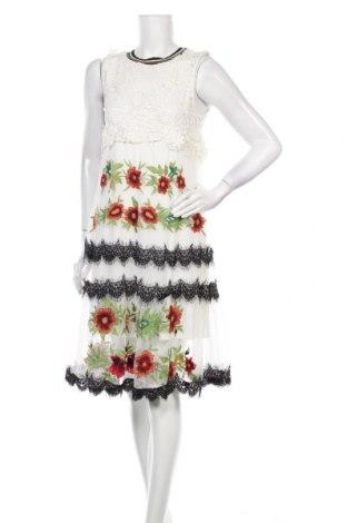 Φόρεμα Desigual, Μέγεθος M, Χρώμα Λευκό, 65% πολυεστέρας, 34% πολυαμίδη, 1% άλλα υλικά, Τιμή 61,55€