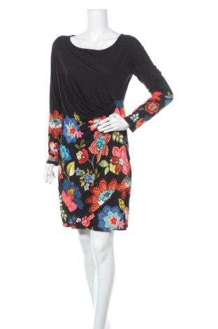 Φόρεμα Desigual, Μέγεθος XL, Χρώμα Μαύρο, 97% βισκόζη, 3% ελαστάνη, Τιμή 52,27€