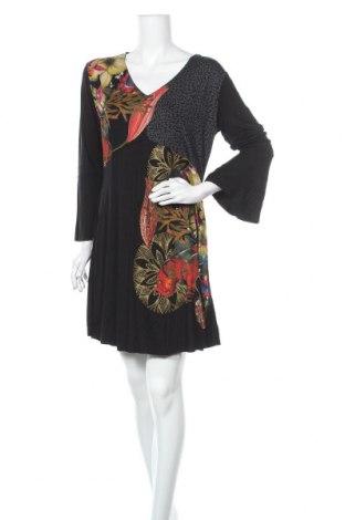 Rochie Desigual, Mărime XL, Culoare Negru, 95% viscoză, 5% elastan, Preț 194,57 Lei