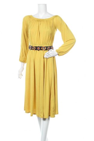 Φόρεμα Desigual, Μέγεθος M, Χρώμα Κίτρινο, 96% ασετάτ, 6% ελαστάνη, Τιμή 52,27€