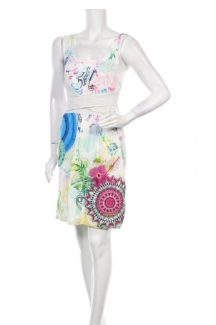Φόρεμα Desigual, Μέγεθος M, Χρώμα Πολύχρωμο, 94% βισκόζη, 4% ελαστάνη, 1% μεταλλικά νήματα, 1% πολυεστέρας, Τιμή 39,89€