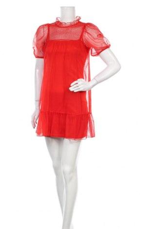 Φόρεμα H&M Divided, Μέγεθος XS, Χρώμα Κόκκινο, Πολυουρεθάνης, Τιμή 7,35€