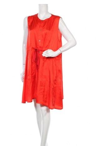Φόρεμα MM6 Maison Martin Margiela, Μέγεθος XL, Χρώμα Κόκκινο, 56% χαλκαμμωνία, 44% μοντάλ, Τιμή 155,51€