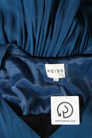 Рокля Reiss, Размер M, Цвят Син, 99% вискоза, 1% еластан, Цена 55,50лв.