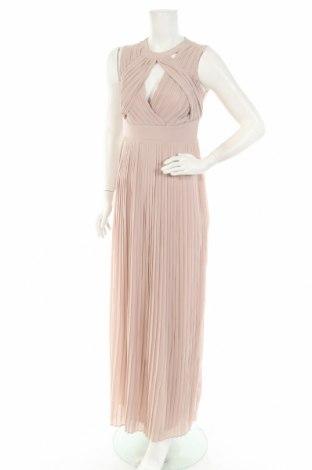 Φόρεμα TFNC London, Μέγεθος M, Χρώμα  Μπέζ, Πολυεστέρας, Τιμή 18,87€