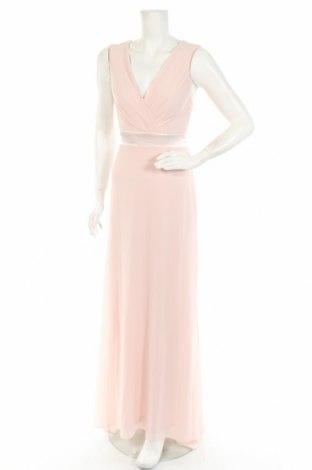 Рокля TFNC London, Размер S, Цвят Розов, Полиестер, еластан, Цена 67,10лв.