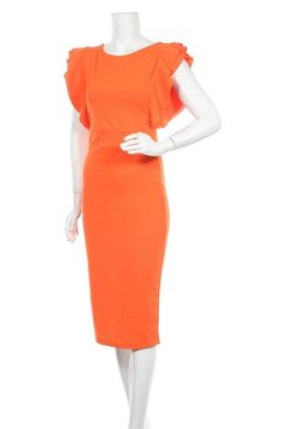 Рокля Wal G, Размер S, Цвят Оранжев, 95% полиестер, 5% еластан, Цена 43,20лв.
