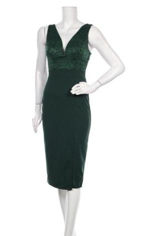 Рокля Wal G, Размер S, Цвят Зелен, 95% полиестер, 5% еластан, Цена 61,60лв.