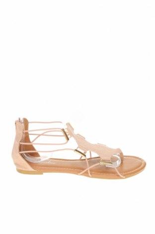 Sandale, Mărime 38, Culoare Roz, Piele ecologică, Preț 23,21 Lei