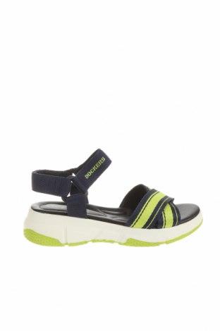 Sandale Dockers by Gerli, Mărime 37, Culoare Albastru, Piele ecologică, textil, Preț 76,32 Lei