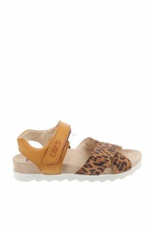 Детски сандали Primigi, Размер 36, Цвят Бежов, Естествен велур, естествена кожа, Цена 43,60лв.