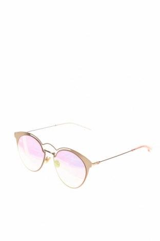 Слънчеви очила Christian Dior, Цвят Златист, Цена 185,25лв.