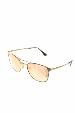 Слънчеви очила Ray Ban, Цвят Златист, Цена 73,50лв.