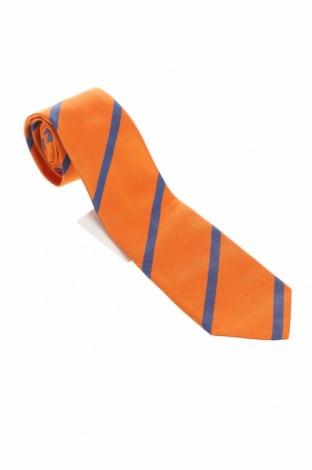 Γραβάτα Gant, Χρώμα Πορτοκαλί, Μετάξι, Τιμή 19,74€