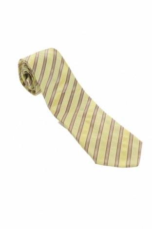 Γραβάτα Hugo Boss, Χρώμα Κίτρινο, Μετάξι, Τιμή 12,27€