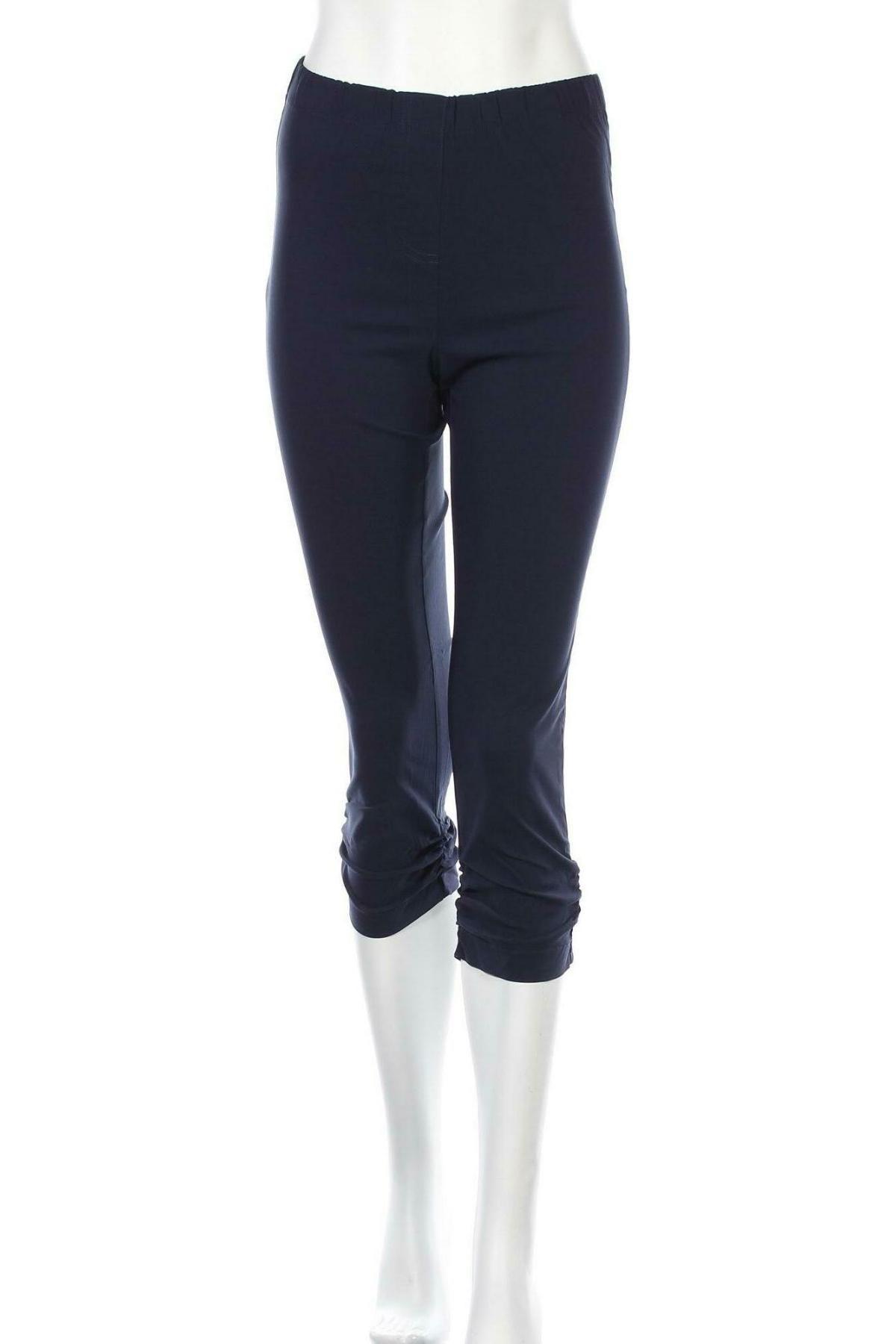 Дамски панталон Aniston, Размер S, Цвят Син, 70% памук, 26% полиестер, 4% еластан, Цена 13,09лв.
