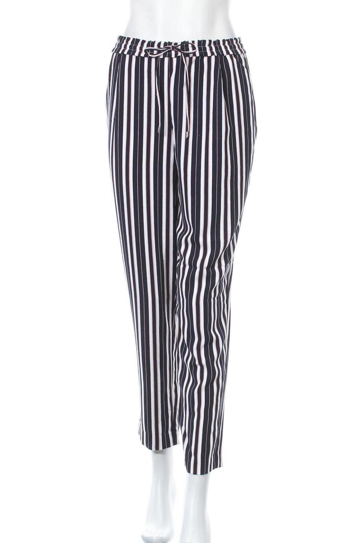Дамски панталон ONLY, Размер M, Цвят Многоцветен, 97% полиестер, 3% еластан, Цена 8,43лв.