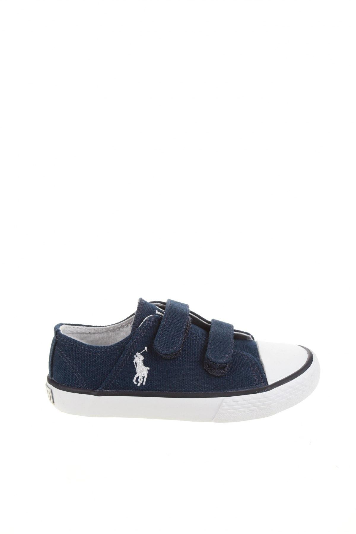 Детски обувки Polo By Ralph Lauren, Размер 26, Цвят Син, Текстил, Цена 74,25лв.
