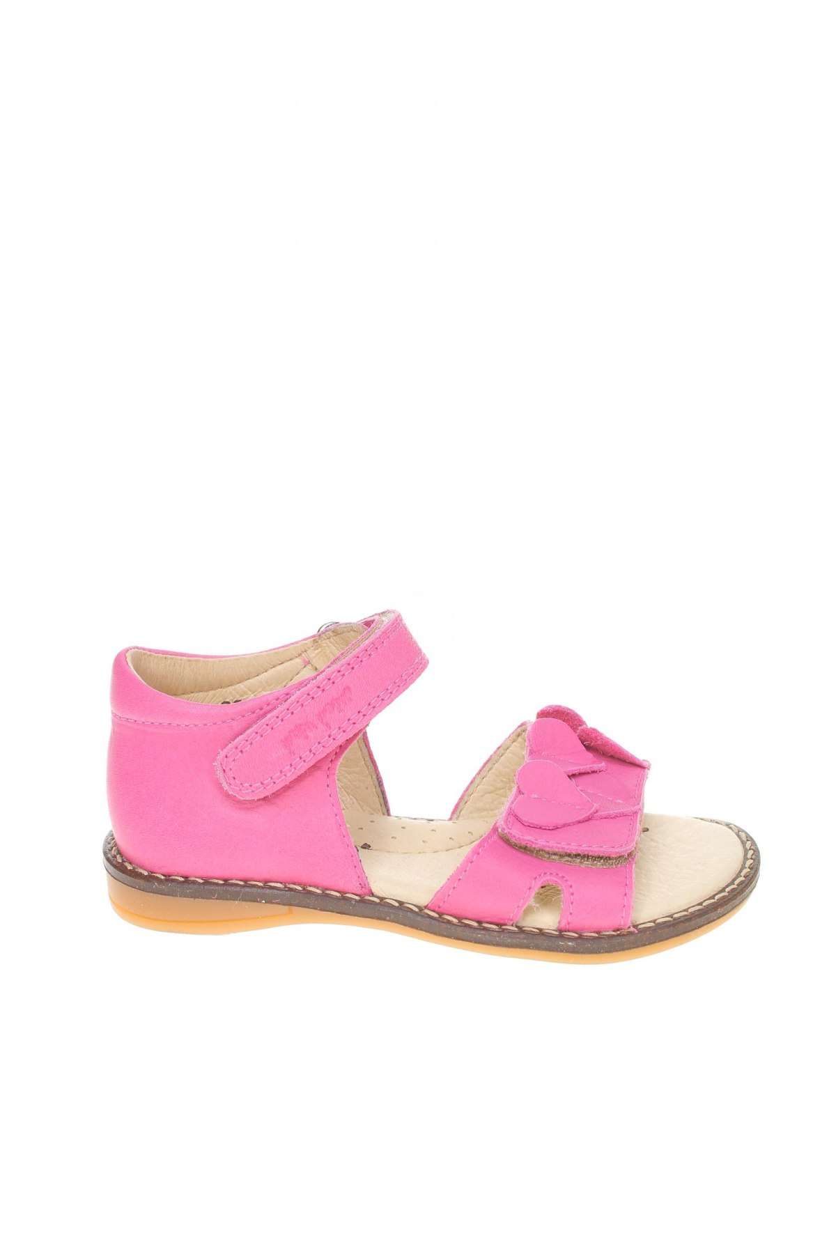 Детски сандали Pom Pom, Размер 25, Цвят Розов, Естествена кожа, Цена 46,87лв.