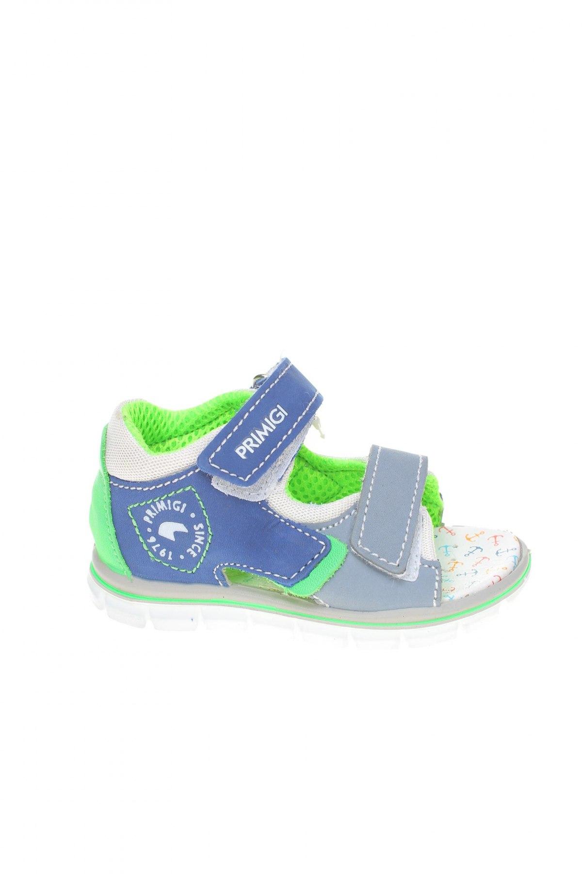 Детски сандали Primigi, Размер 23, Цвят Син, Естествена кожа, Цена 59,95лв.