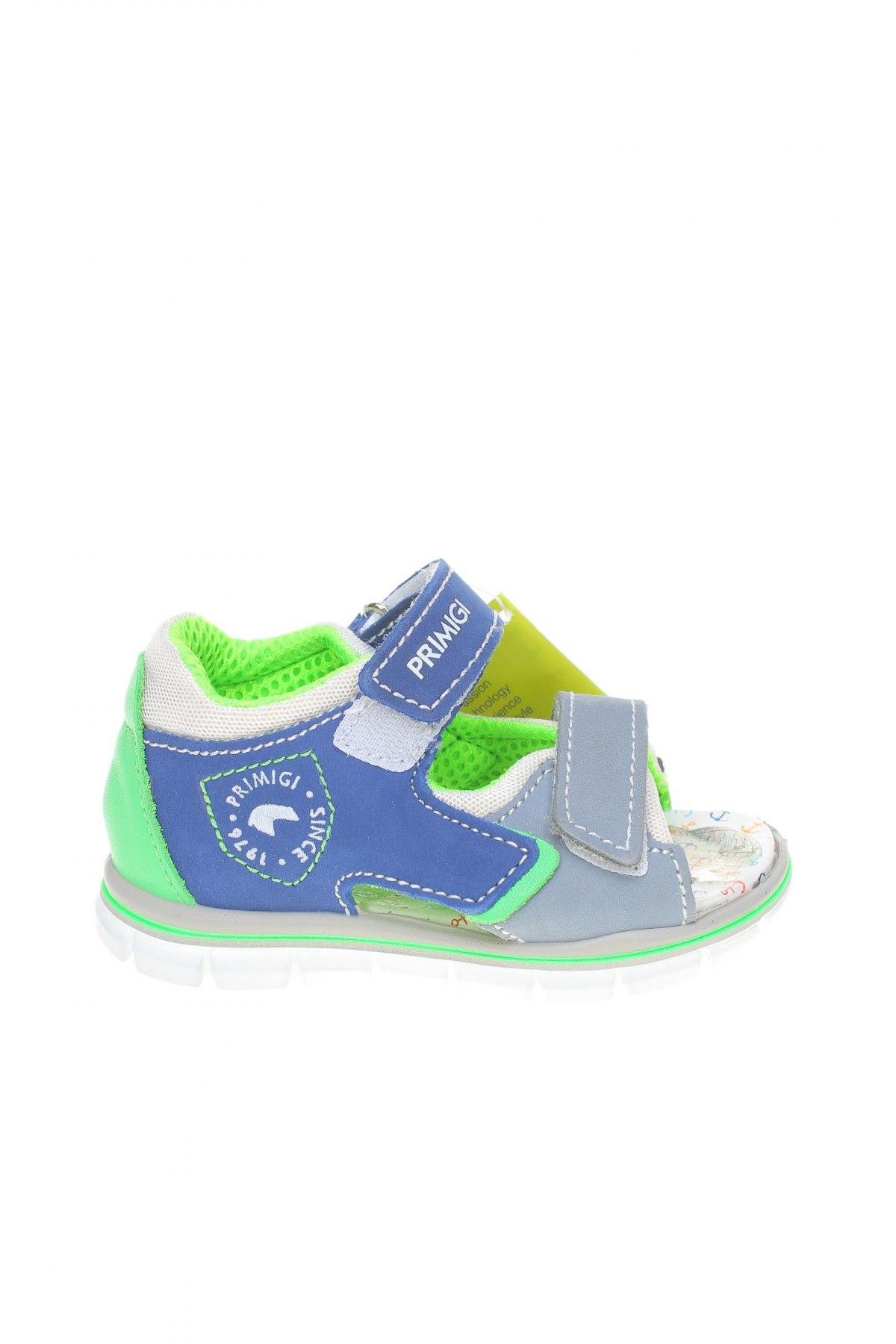 Детски сандали Primigi, Размер 24, Цвят Син, Естествена кожа, Цена 59,95лв.