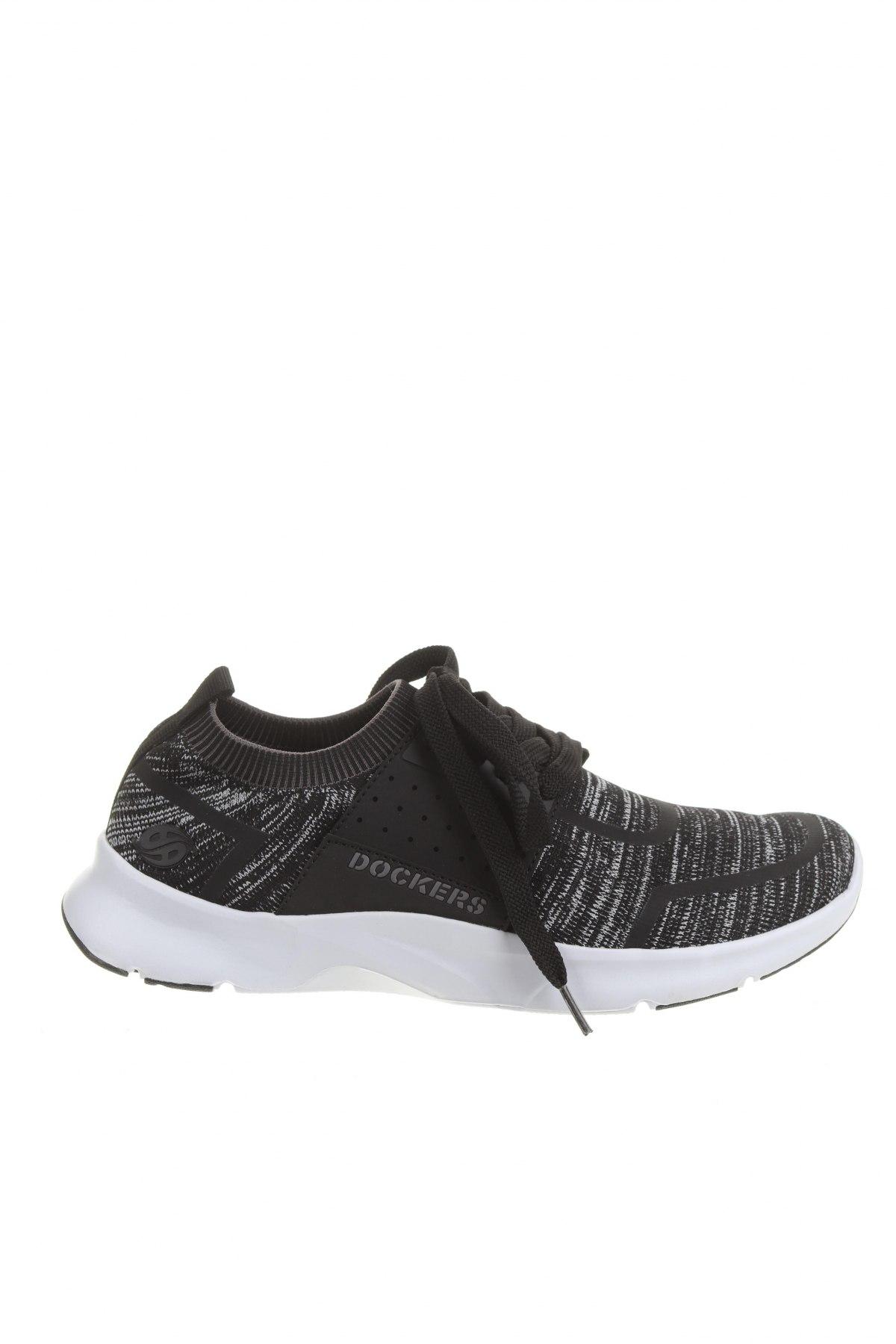 Мъжки обувки Dockers by Gerli, Размер 41, Цвят Черен, Текстил, Цена 27,52лв.