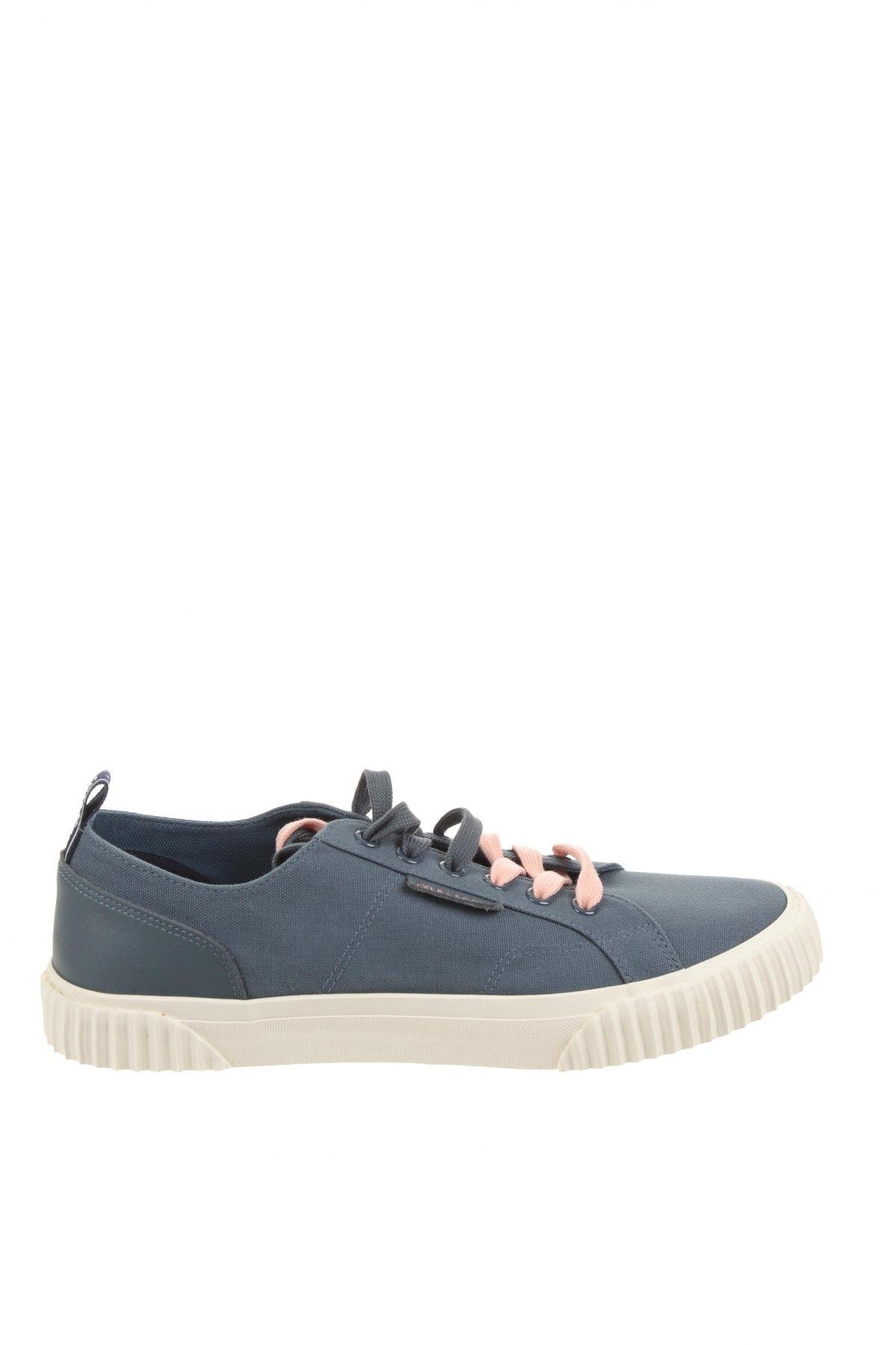 Мъжки обувки Lyle & Scott, Размер 42, Цвят Син, Текстил, естествена кожа, Цена 89,25лв.