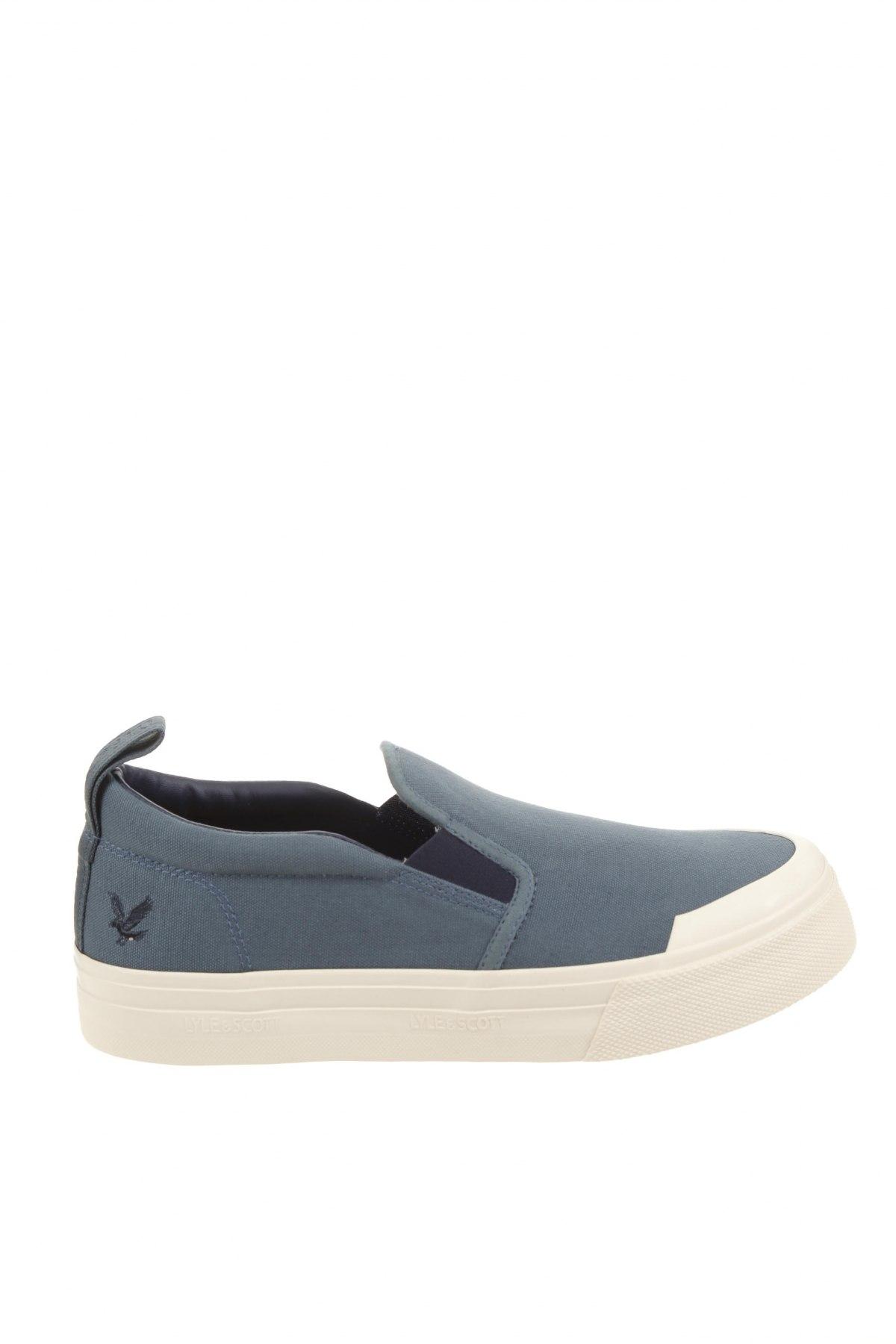 Мъжки обувки Lyle & Scott, Размер 42, Цвят Син, Текстил, Цена 35,97лв.