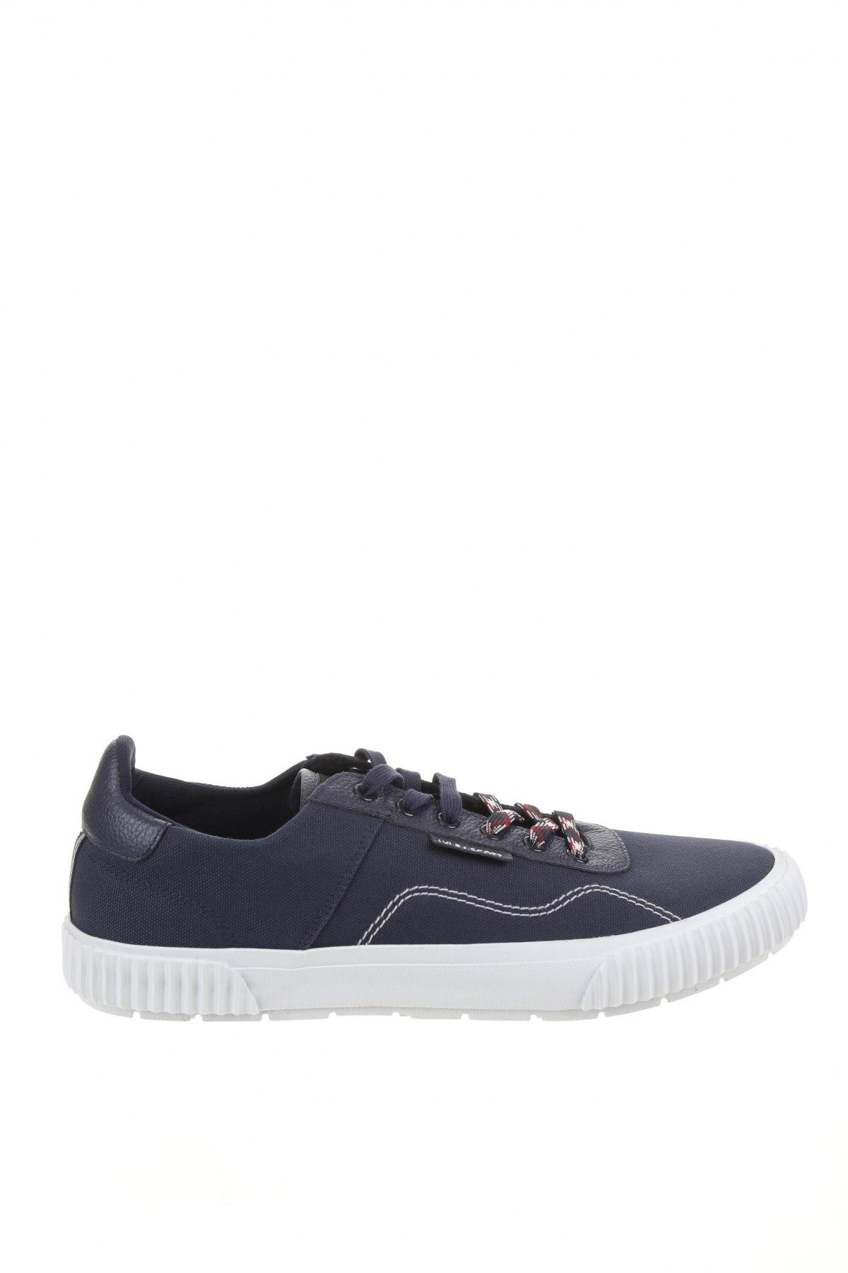 Мъжки обувки Lyle & Scott, Размер 46, Цвят Син, Текстил, естествена кожа, Цена 59,50лв.
