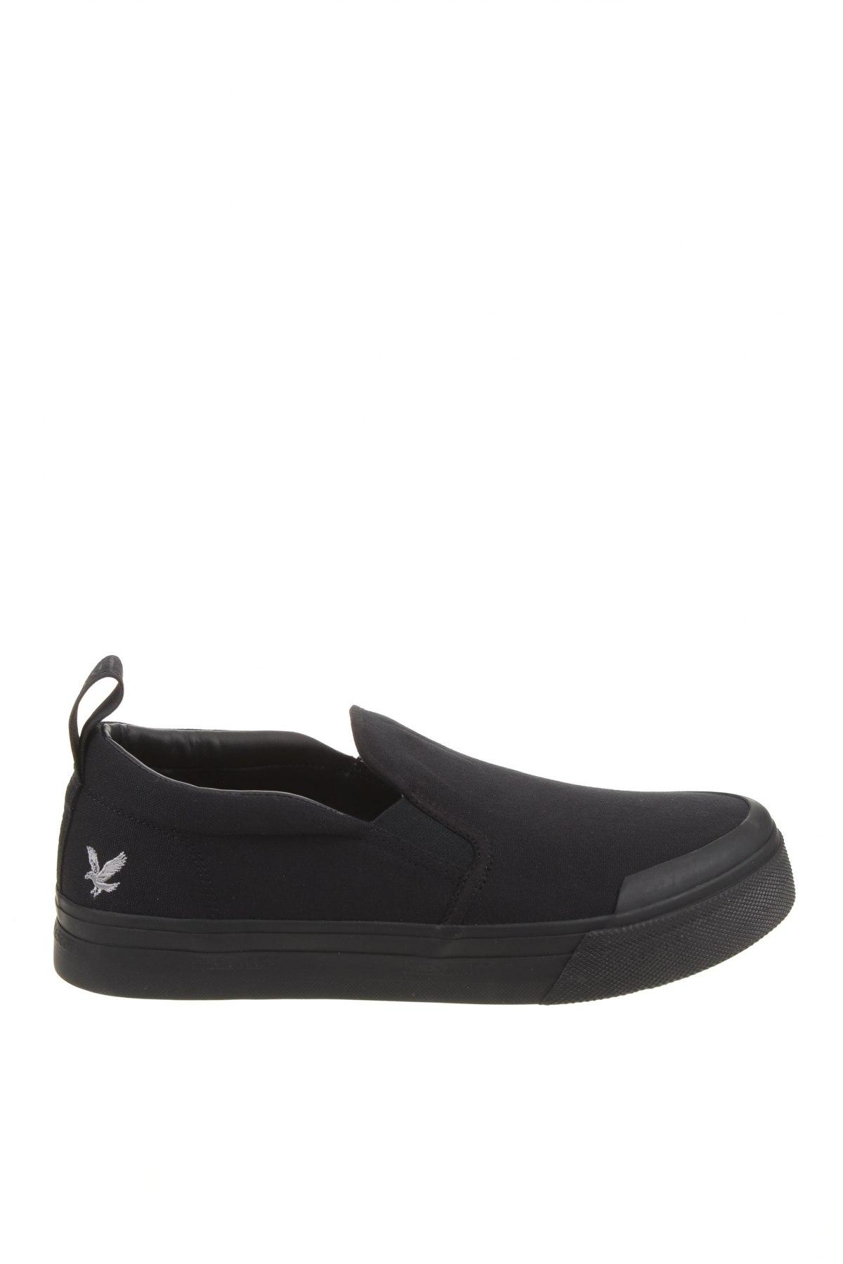 Мъжки обувки Lyle & Scott, Размер 44, Цвят Черен, Текстил, Цена 49,05лв.