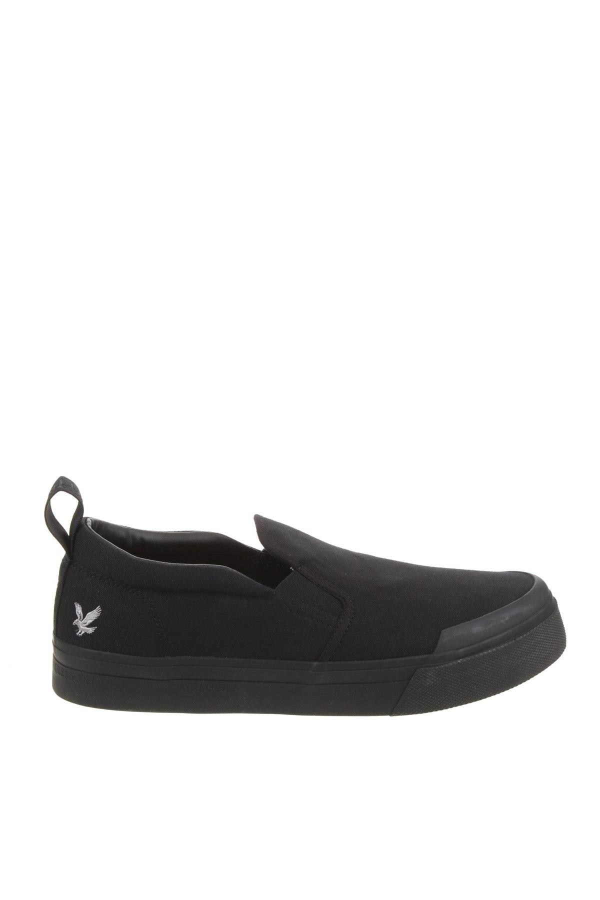 Мъжки обувки Lyle & Scott, Размер 45, Цвят Черен, Текстил, Цена 81,75лв.