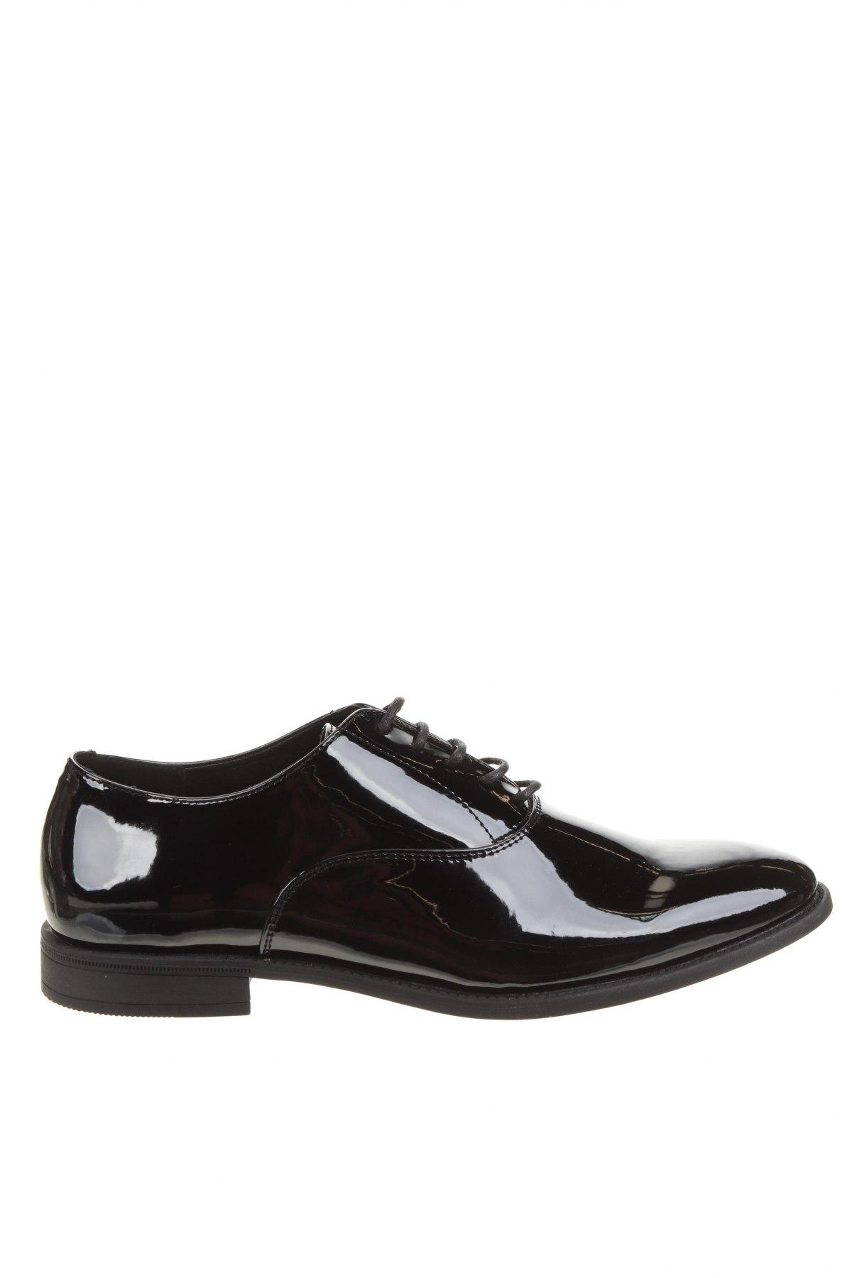 Мъжки обувки Pier One, Размер 44, Цвят Черен, Еко кожа, Цена 51,35лв.