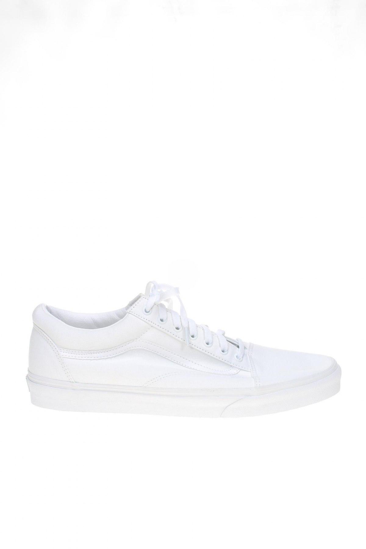 Ανδρικά παπούτσια Vans, Μέγεθος 50, Χρώμα Λευκό, Κλωστοϋφαντουργικά προϊόντα, δερματίνη, Τιμή 46,01€