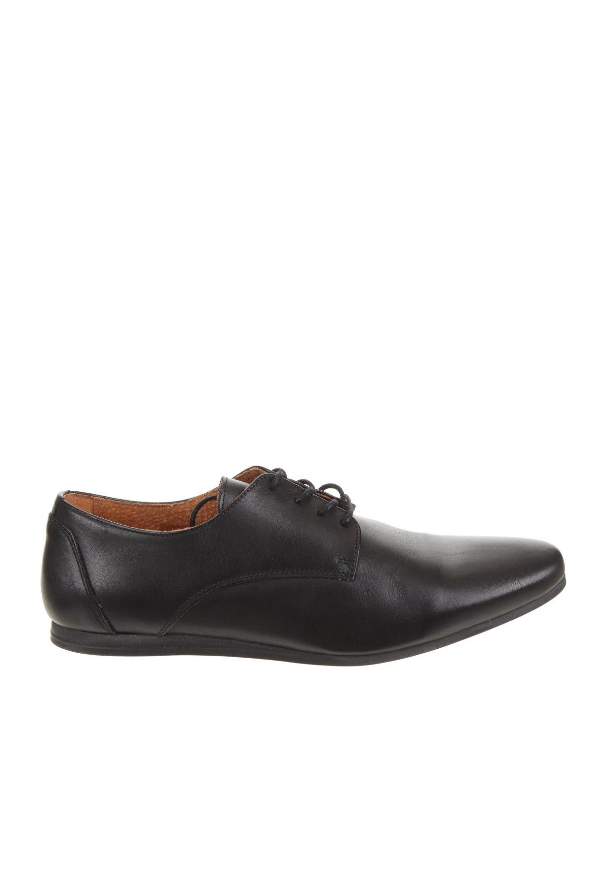 Ανδρικά παπούτσια Zign, Μέγεθος 44, Χρώμα Μαύρο, Γνήσιο δέρμα, Τιμή 49,87€