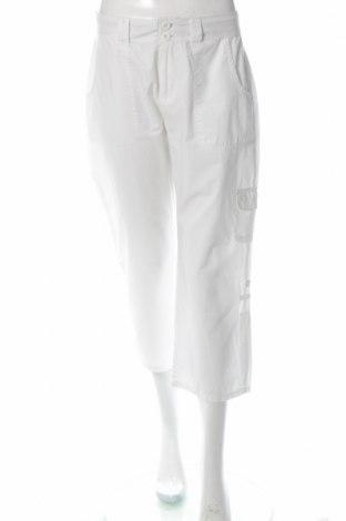 Дамски панталон Nadia Nardi, Размер M, Цвят Бял, Памук, Цена 6,24лв.