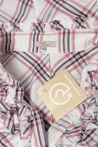 Γυναικείο πουκάμισο La Ligna, Μέγεθος M, Χρώμα Πολύχρωμο, 52% βαμβάκι, 48% πολυεστέρας, Τιμή 9,90€