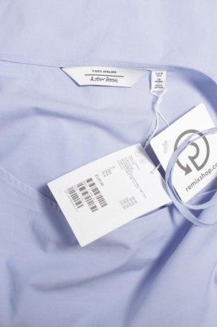 Дамска блуза & Other Stories, Размер S, Цвят Син, 100% памук, Цена 40,30лв.