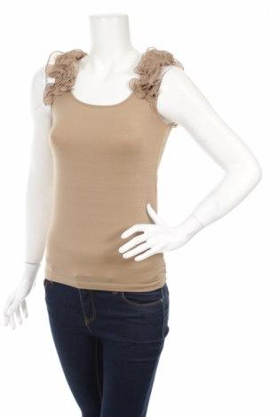 Дамска блуза Adilisk, Размер M, Цвят Бежов, Цена 4,80лв.